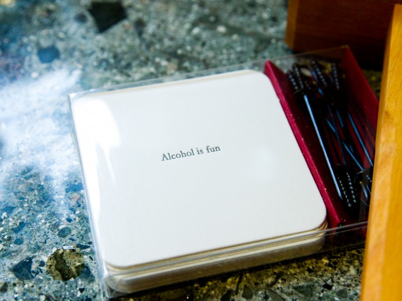 Alcohol is Fun - The Rituals Favorite Coasters