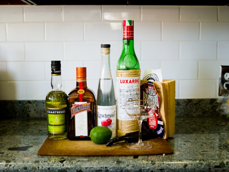 Albertine Cocktail - Ingredients