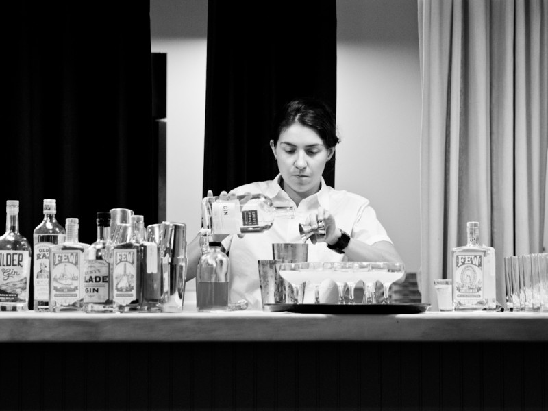 Gin Class -- Melaney Schmidt -- The Standard Hotel